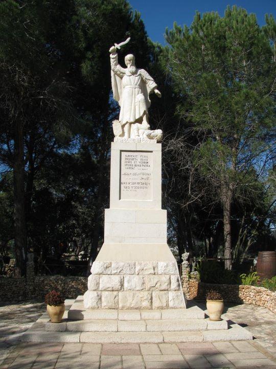 Elijah on Mt Carmel